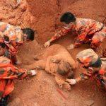 Pengorbanan Ibu saat Gempa di China