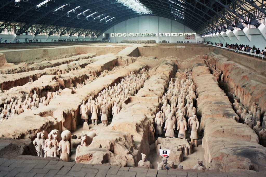patung terracota warrior xian