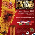 Indonesia Juara Umum 2nd Living World International Lion Dance Championship 2014