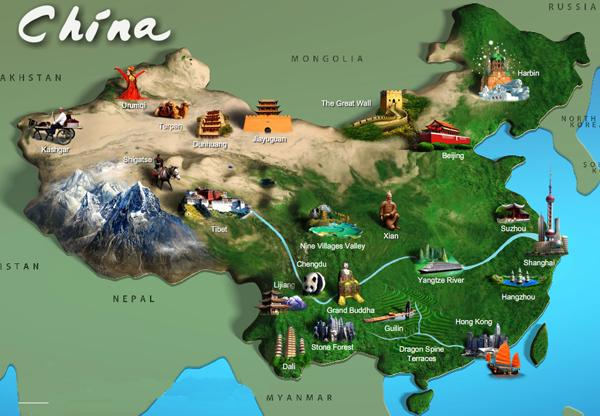 Daftar Propinsi Tiongkok 4 Kota Setingkat Propinsi 2 Daerah Administrasi Khusus Dan 22 1 Propinsi Tionghoa Info