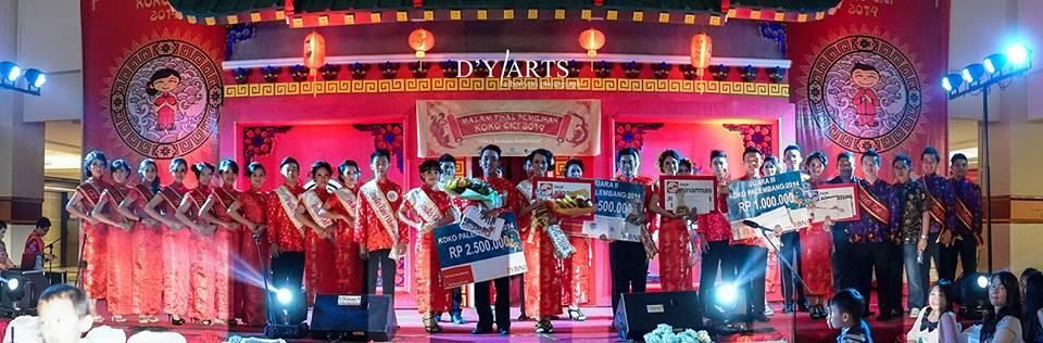Pemilihan Pemenang koko cici palembang 2014