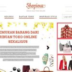 Peluang Usaha Toko Online; Shopious