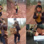 Kisah Yu Xukang Menggendong Anaknya Sejauh 18 Mil ke Sekolah