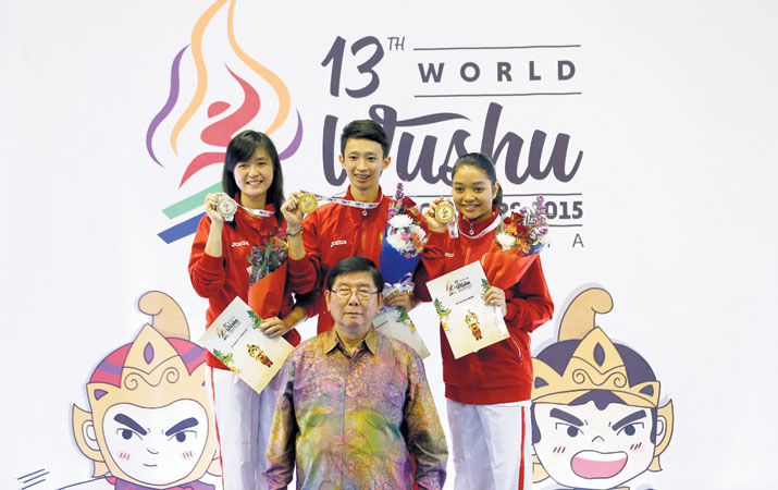 tim wushu indonesia