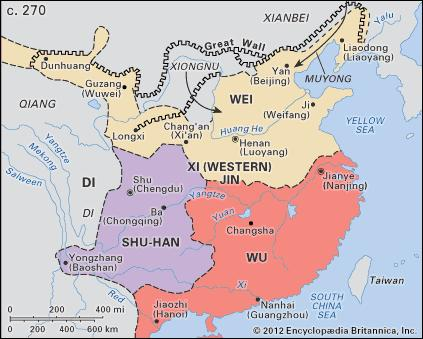 Peta Tiga Negara