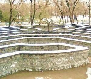 Stone sentinel maze