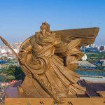Inilah Patung Guan Yu Terbaru Yang Dibuat Seberat 1320 Ton