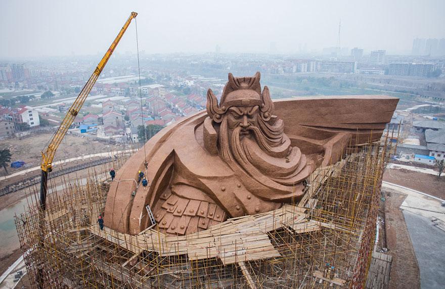 Patung Guan Yu 7