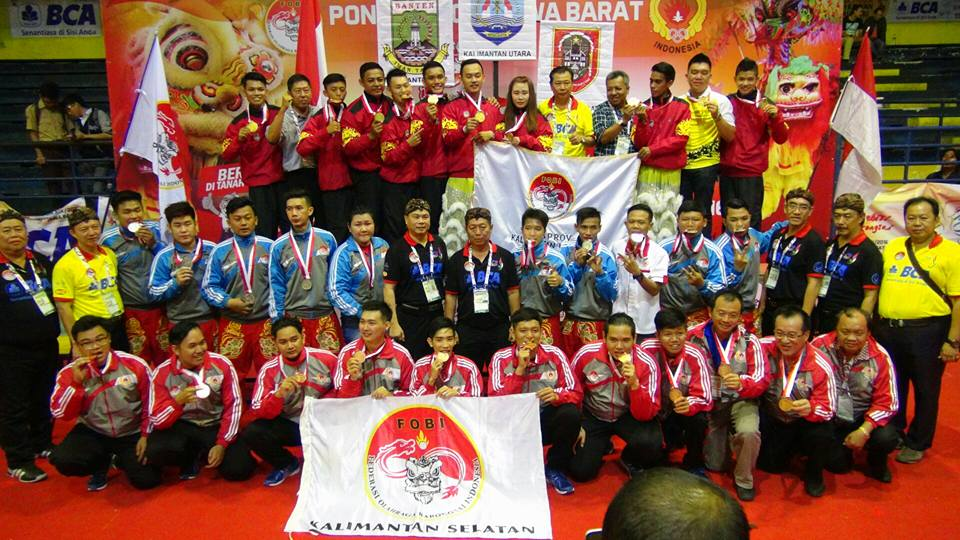 Kategori Barongsai Taolu Bebas : Juara 1 Emas - Kalimantan Utara nilai 9,11 Juara 2 Perak - Banten nilai 9,09 Juara 3 Perunggu - Kalimantan Selatan nilai 9,08