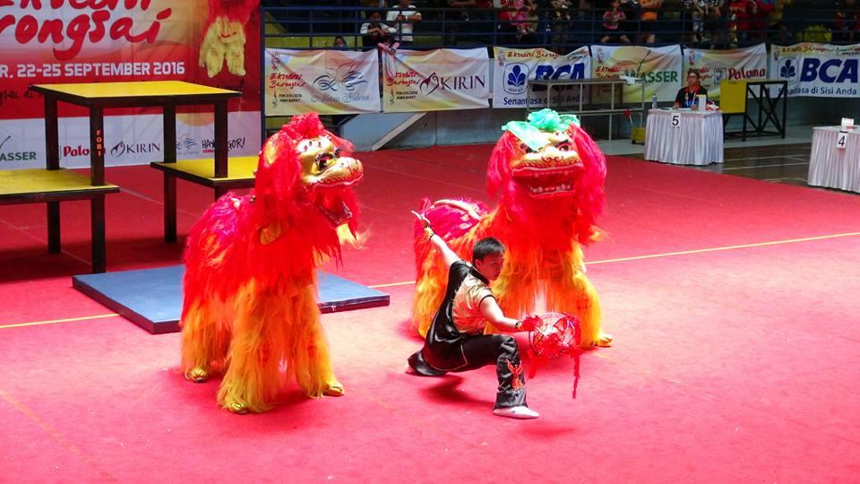 Kategori Pekingsai Taolu Bebas - Kontingen Banten nilai perolehan 7,74