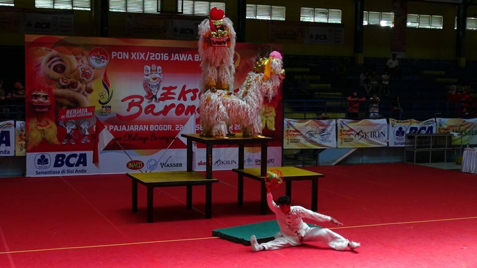 Kategori Pekingsai Taolu Bebas - Kontingen Jabar 1 nilai perolehan 7,28