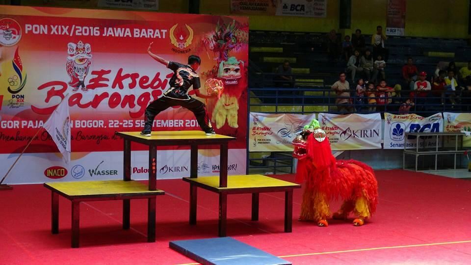 Kategori Pekingsai Taolu Bebas - Kontingen Jawa Tengah nilai perolehan 6,82