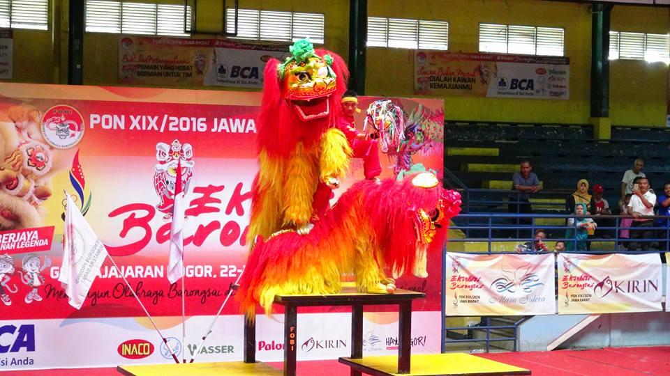 Kategori Pekingsai Taolu Bebas - Kontingen Sumatra Barat nilai perolehan 8,63