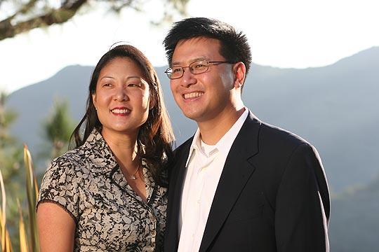 John Chiang & Istri (Terry Chi)