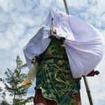 Inilah Realita Toleransi di Indonesia : Patung Dewa Kwan Kong Ditutup KAIN PUTIH