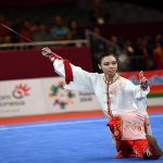 Emas Pertama Wushu di Asian Games 2018 : Sumbangan Emas Terakhir Lindswell Bagi Indonesia