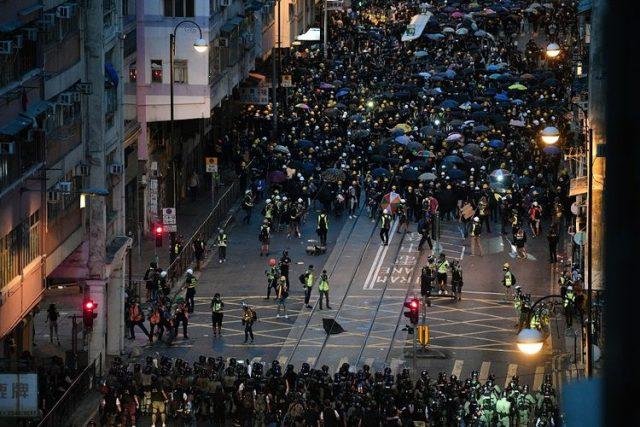 Kerusuhan Hong Kong