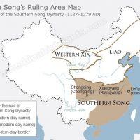 Peta kerajaan Song Selatan