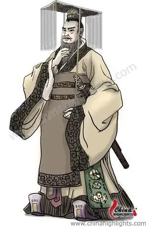 Raja Pertama Dinasti Qin